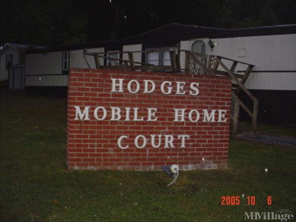 Hodges Mobile Home Park Mobile Home Park in Bluewell, WV