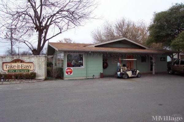 Photo of Take It Easy Mobile Home Park, Kerrville, TX