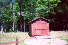 Storage builing that can be purchased for $1,100 (our cost) or rented ($15/month)
