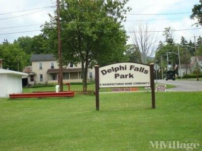 Mobile Home Park in Delphi Falls NY