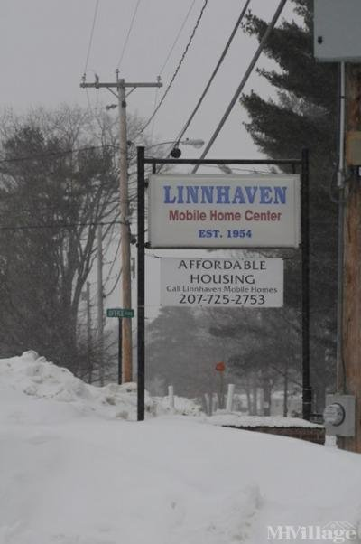 Our sign in snow storm