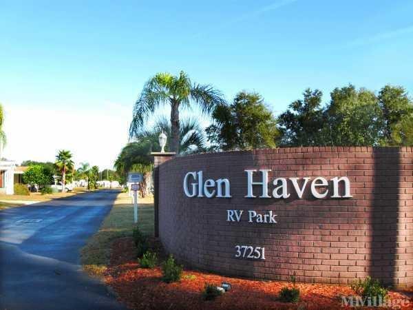 Glen Haven RV Resort Mobile Home Park in Zephyrhills, FL