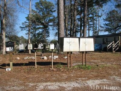 Mobile Home Park in Sylacauga AL