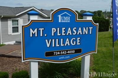 Mobile Home Park in Mount Pleasant PA