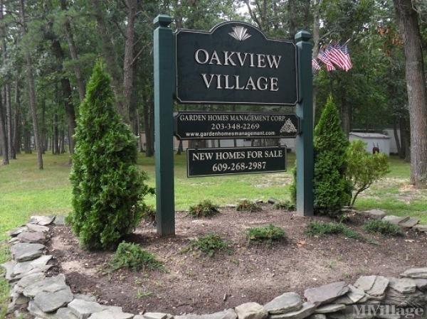 Oakview Community Mobile Home Park in Shamong, NJ