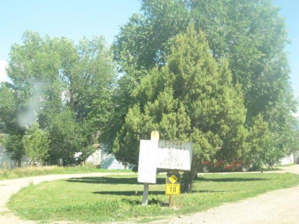 Cedar Meadows Mobile Home Park in Durango, CO