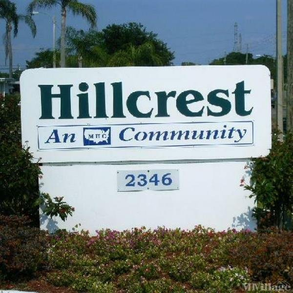 Hillcrest Mobile Home Park in Clearwater, FL