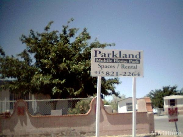 Photo of Parkland Mobile Home Park, El Paso, TX