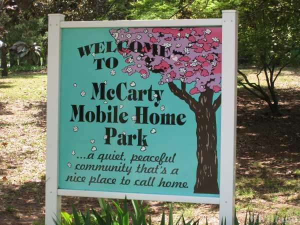 McCarty Community Mobile Home Park in Statham, GA