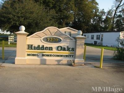 Hidden Oaks Mobile Home Community
