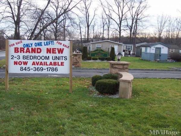 Orange County Estates Mobile Home Park in Bullville, NY