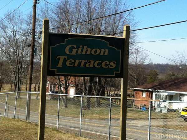 Gihon Terraces Mobile Home Park in Parkersburg, WV