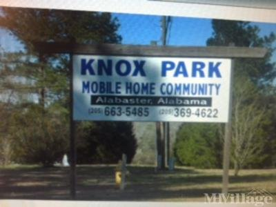 Mobile Home Park in Maylene AL