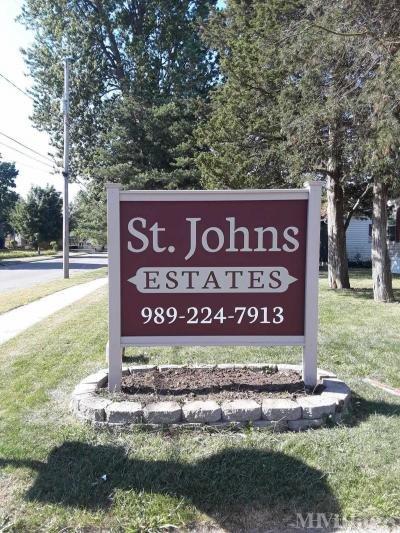 Mobile Home Park in Saint Johns MI