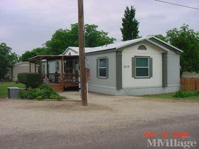 Mobile Home Park in Midland TX