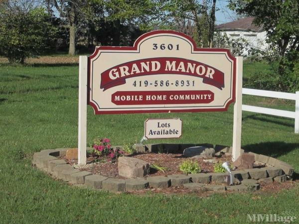 Grand Manor Mobile Home Park Mobile Home Park in Celina, OH