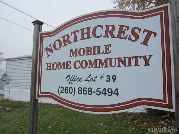 Northcrest Mobile Home Community Mobile Home Park in Butler, IN