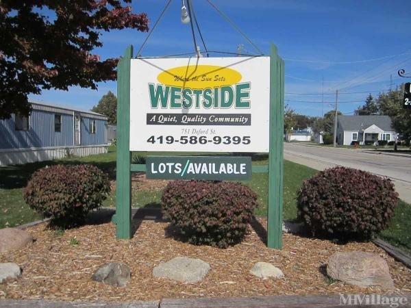 Westside Mobile Home Community Mobile Home Park in Celina, OH