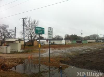 Mobile Home Park in Brenham TX