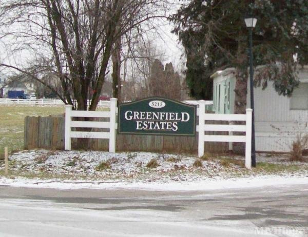 Greenfield Estates Mobile Home Park in Groveport, OH