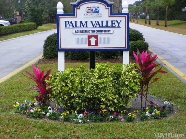 Palm Valley Mobile Home Park in Oviedo, FL
