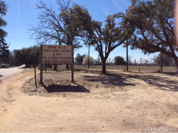 Photo of Spring Valley Mh Estates, Woodville, TX