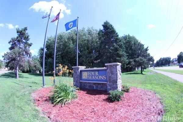 Park of Four Seasons Mobile Home Park in Blaine, MN