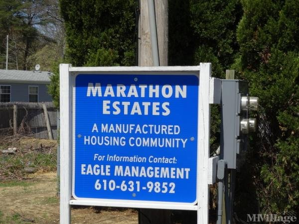 Marathon Estates Mobile Home Park in Mantua, NJ