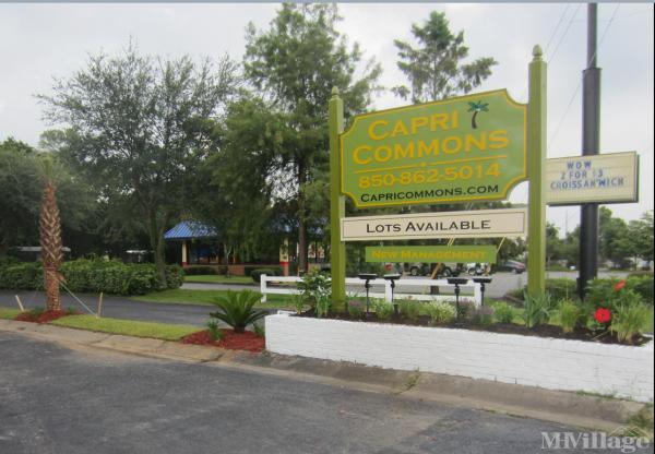 Capri Commons Mobile Home Park in Fort Walton Beach, FL