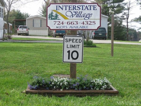 Interstate Village Mobile Home Park in Claysville, PA