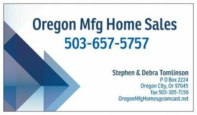 Mobile Home Dealer in Oregon City OR