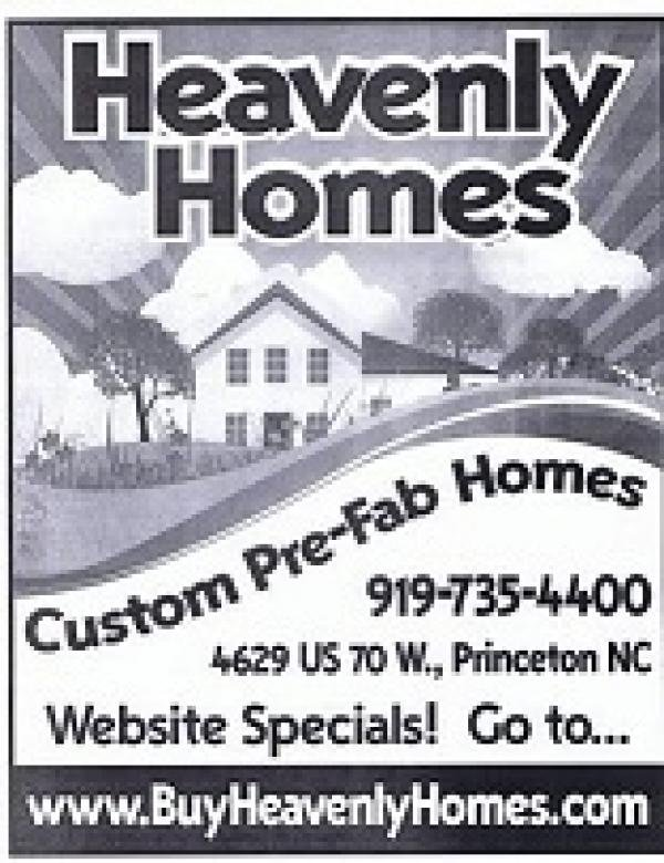 Heavenly Homes Mobile Home Dealer in Princeton, NC