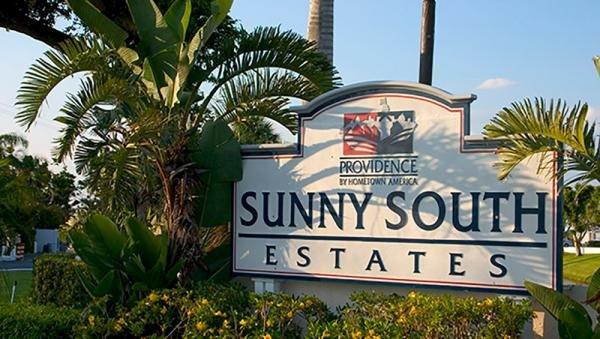 Sunny South Estates Mobile Home Dealer in Boynton Beach, FL