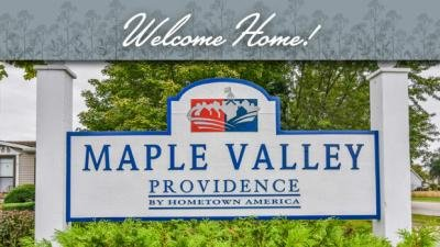 Maple Valley mobile home dealer with manufactured homes for sale in Manteno, IL. View homes, community listings, photos, and more on MHVillage.