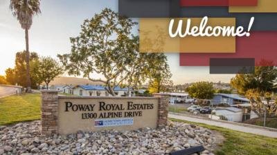 Poway Royal Estates mobile home dealer with manufactured homes for sale in Poway, CA. View homes, community listings, photos, and more on MHVillage.