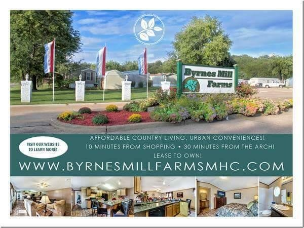 Byrnes Mill Farms MHC Mobile Home Dealer in House Springs, MO