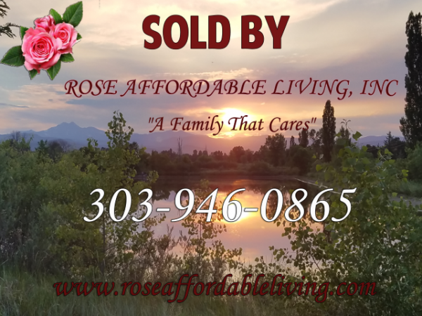 Rose Affordable Living mobile home dealer with manufactured homes for sale in Longmont, CO. View homes, community listings, photos, and more on MHVillage.