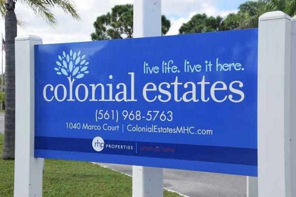 Colonial Estates Mobile Home Dealer in Lake Worth, FL