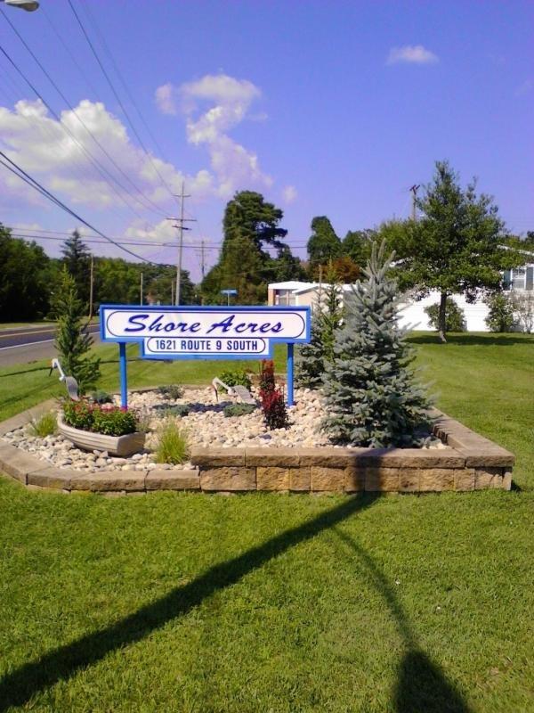 Shore Acres Entrance Sign