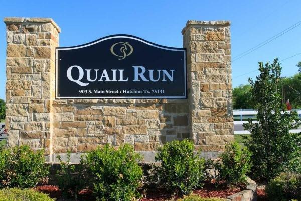 Quail Run Mobile Home Dealer in Hutchins, TX
