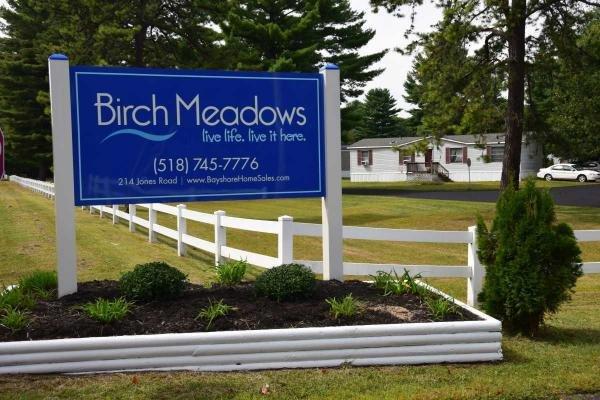 Birch Meadows Mobile Home Dealer in Saratoga Springs, NY