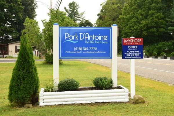 Park D'Antoine Mobile Home Dealer in Gansevoort, NY