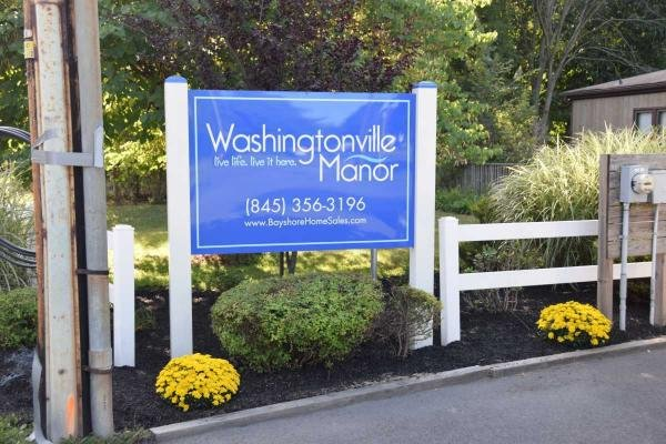 Washingtonville Manor Mobile Home Dealer in Washingtonville, NY