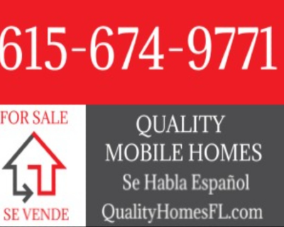 Mobile Home Dealer in Palm Beach Gardens FL