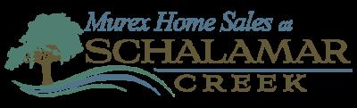Murex Home Sales at Schalamar Creek