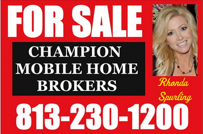 Listed By Rhonda Spurling of Champion Mobile Home Brokers of Florida