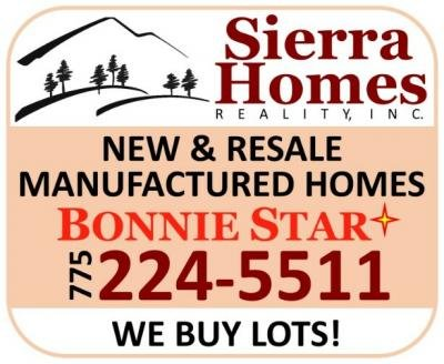 Listed By Dwight Gilbert of Sierra Homes Realty, Inc